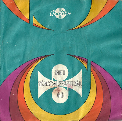 1960's record cover psychedelic