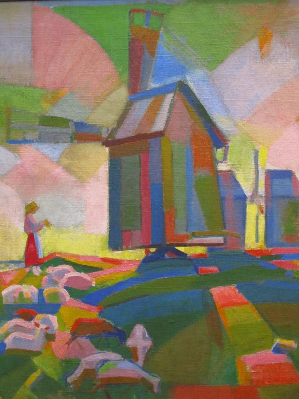 """Windmill"" Kuno Veeber, 1918"